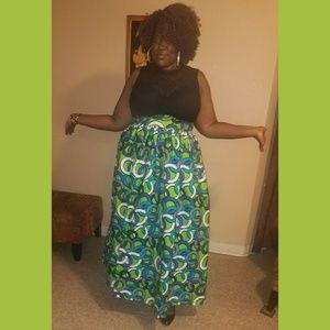 Dresses & Skirts - Ankara Maxi Skirt